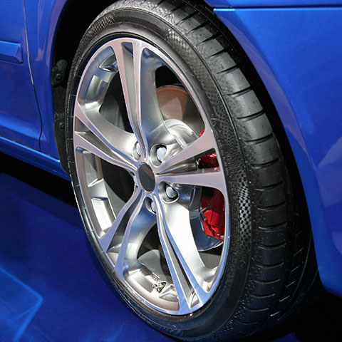 Alloy Wheel Cosmetic Repair (Optional feature)